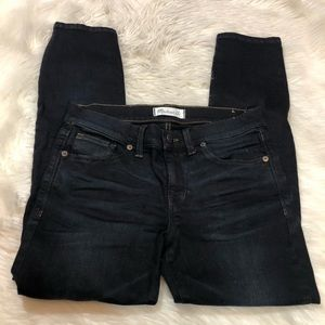 Madewell Skinny Skinny Crop Jeans Tempest Wash 27